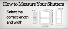 How To Measure Your Shutters
